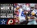 Cowboys vs. Redskins | NFL Week 2 Game Highlights MP3