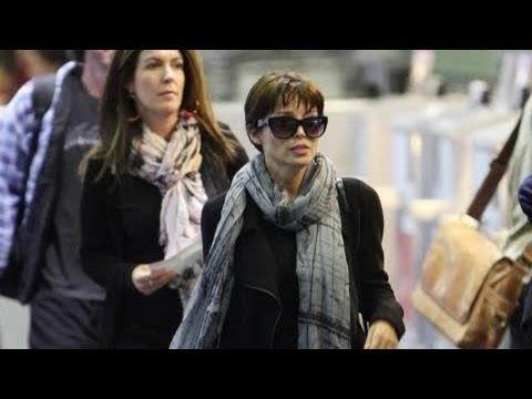 Dannii Minogue Looks Sad - Splash News