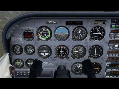 http://geardownfs.com/ http://twitter.com/geardownfs Hello! This video covers information about the default Cessna 172 Flight Panel in FSX. It is recommended that you get familiar with the...