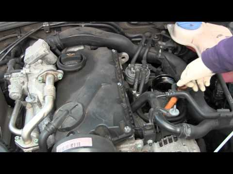 How to DIY oil change on VW Passat TDI. somewhat similar on Volkswagen Jetta TDI