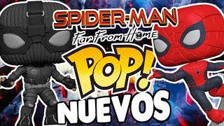 ¡CONFIRMADO! 5 NUEVOS Funko POP de Spider-Man Far From Home