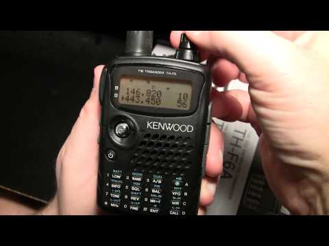 Kenwood TH-F6A - UNBOXING & DEMO [ENGLISH]