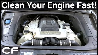 How to Clean Your Engine Bay in 20 Minutes!