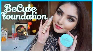 Desi makeup || Becute liquid foundation review || becute pressed powder review in urdu/hindi