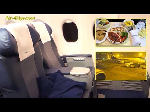 Jet Airways Boeing 737-900 Business Class Delhi to Kathmandu! [AirClips full flight series]