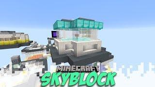 Caging My Visitors - Skyblock Season 2 - EP09 (Minecraft Video)