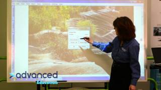 Hitachi Starboard Software Tutorial: Video 8 - Working with the Gallery by AdvEducation
