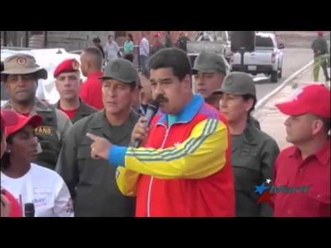 Maduro amenaza con no entregar el gobierno si gana la oposición