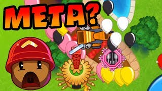 Tac + Chipper + Village | Trying The New Meta? - Bloons TD Battles