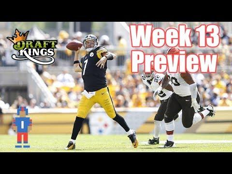 NFL Week 13 Preview & Picks - DraftKings