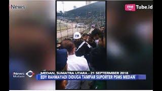 VIRAL, Video Gubernur Sumut Edy Rahmayadi Diduga Tampar Suporter PSMS - iNews Malam 23/09