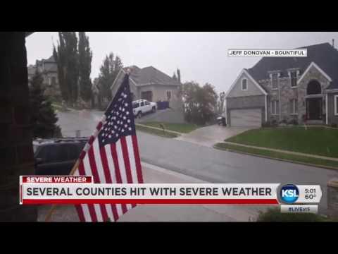 Tornado Runs Through Riverdale And Washington Terrace