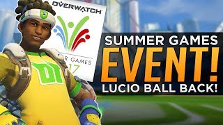 Overwatch: Summer Games Event CONFIRMED!? - LUCIO BALL IS BACK!