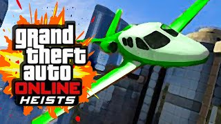 PRISON BREAK HEIST (GTA 5 Heists Funny Moments) #2