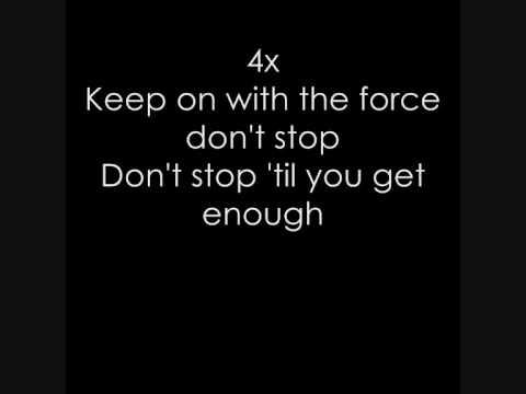 Michael Jackson - Michael Jackson - Don't Stop 'til You Get Enough (Lyrics)