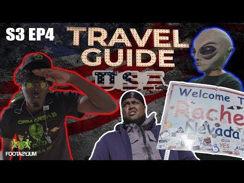 CHUNKZ AND AJ STORM AREA 51   ROAD TO KSI   TRAVEL GUIDE USA EP 4