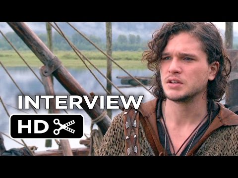 Seventh Son Interview - Kit Harington (2015) - Julianne Moore, Jeff Bridges Movie HD