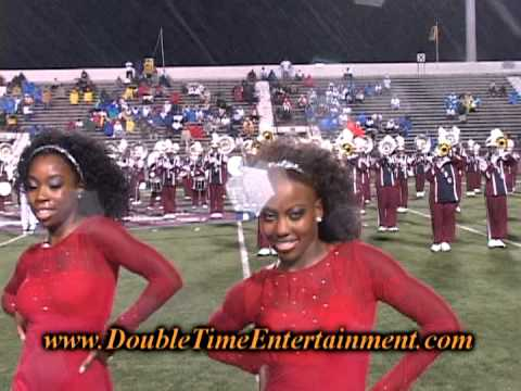 The SCSU marching band performs halftime vs Bethune Cookman University. The rain started coming down as soon as the show began but the 101 kept going for the...