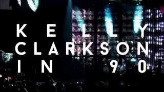 A Kelly Clarkson Concert in 90 Seconds | gotcathy