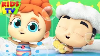 Bath Time Song | Swimming Song Kids Songs & Nursery Rhymes | Super Supremes Cartoon