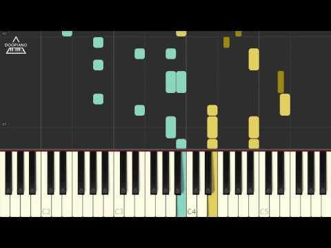트와이스 (TWICE) - Knock Knock Piano Tutorial