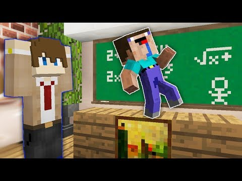 Нуб Школьник танцует на уроке в Майнкрафт ! Школа Нубов в MInecraft Сериал 1 серия !