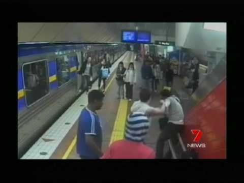 Crime on Melbourne's train network