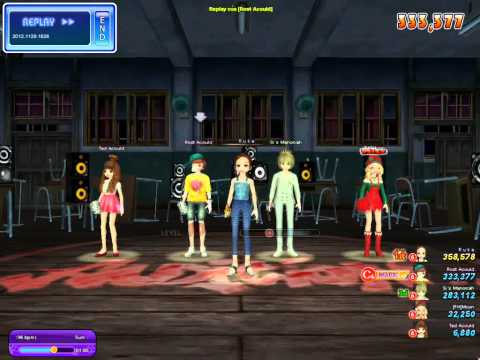 [Audition VN] Crazy 8k - No reason 196  bpm by Rost Acould