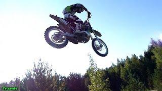 Kawasaki Kx 250 Jumping Amp Sand Roosting