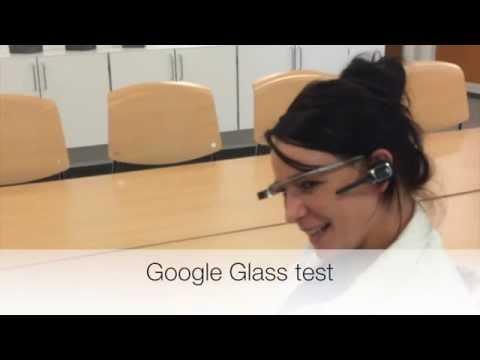 Test af Google Glass-teknologi på Odense Universitetshospital