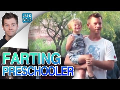 FARTING PRESCHOOLER PRANK!!!!!