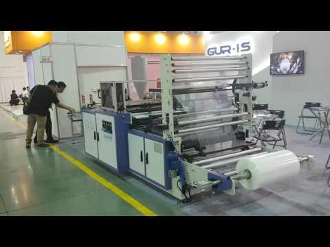 GM-900 SB Universal Bag Machine(Side+Bottom+Double Seal) at Taipeiplas 2016 in Taiwan