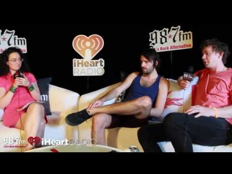 Foals Interview at Coachella 2013