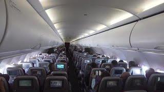 Interior Of A Plane Stock Video