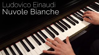 Ludovico Einaudi Nuvole Bianche Piano Hd