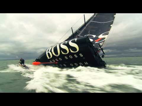 Alex Thomson attempts the Keel Walk
