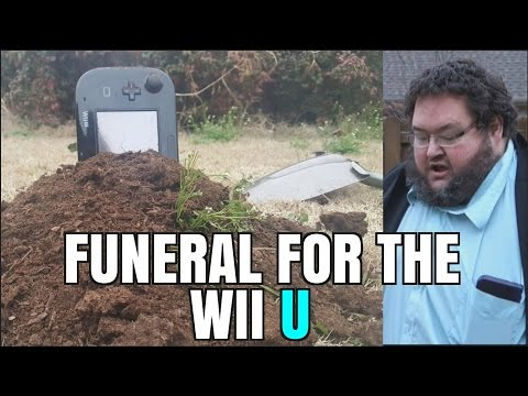 FRANCIS BURIES HIS WII U BECAUSE OF NINTENDO SWITCH