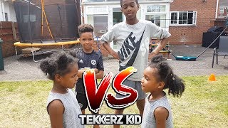 Team Football Forfeit Kids Challenge!! | LOSER GETS SOAKED!!