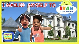I MAILED MYSELF TO RYAN TOYSREVIEW to play with my new Ryan's World Toys and It Worked!   Toy Hunt
