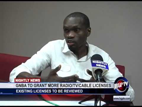 GNBA TO GRANT MORE RADIO/TV/CABLE LICENSES