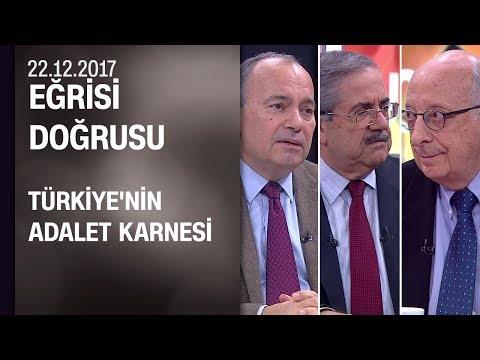 AİHM'de Türkiye'nin adalet sicili nasıl? - Eğrisi Doğrusu 22.12.2017 Cuma