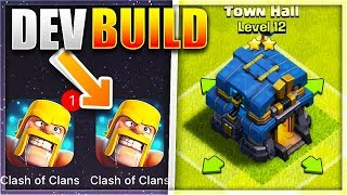DOWNLOADING *NEW* TOWNHALL 12 DEV BUILD For Clash of Clans!
