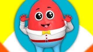 Humpty Dumpty sentado na parede | canção para crianças | rimas em portugues | Farmees Português