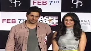 Phansi - 'Hasi Toh Phasi' Theatrical Trailer Launch - Feb 2014 | Siddharth Malhotra