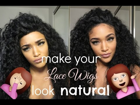 How I make lace wigs look natural   RPGSHOW els133-s