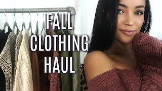 FALL CLOTHING HAUL 2017 | Stephanie Ledda