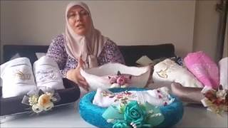 GONDOL HAVLULUK YAPIMI| PART 1-KENDİN YAP- Gondola Towel Construction|DIY