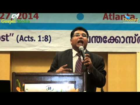 19th  NACOG  2014 -   Inagural  Message  By Rev.  Shibu  Thomas National  President