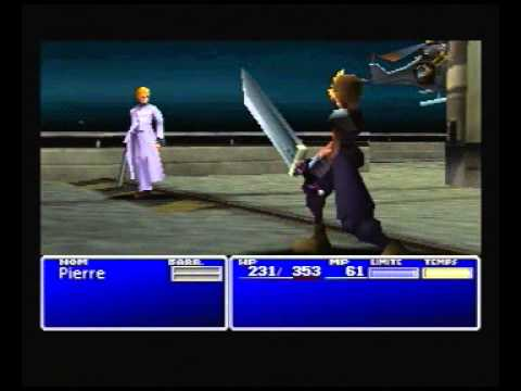 Final Fantasy 7 - LLNIIENACMO challenge - Rufus & Dark Nation