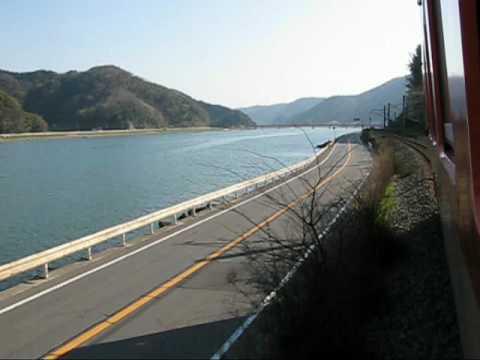 「あまるべマリン号」 ~車窓風景~  2-1    城崎温泉 → 玄武洞通過